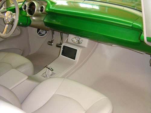 1957 Chevy Tri Five Project Street Seats Custom Street Rod Interiors
