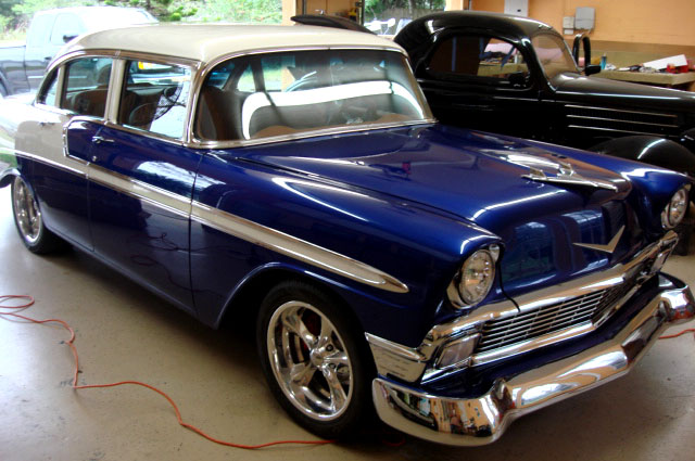 1956 4 door chevy interiors restoration 1956 4 door for 1956 chevy 4 door