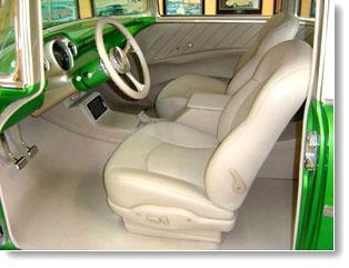 Custom Hot Rod Interiors Street Rod Upholstery Restorations